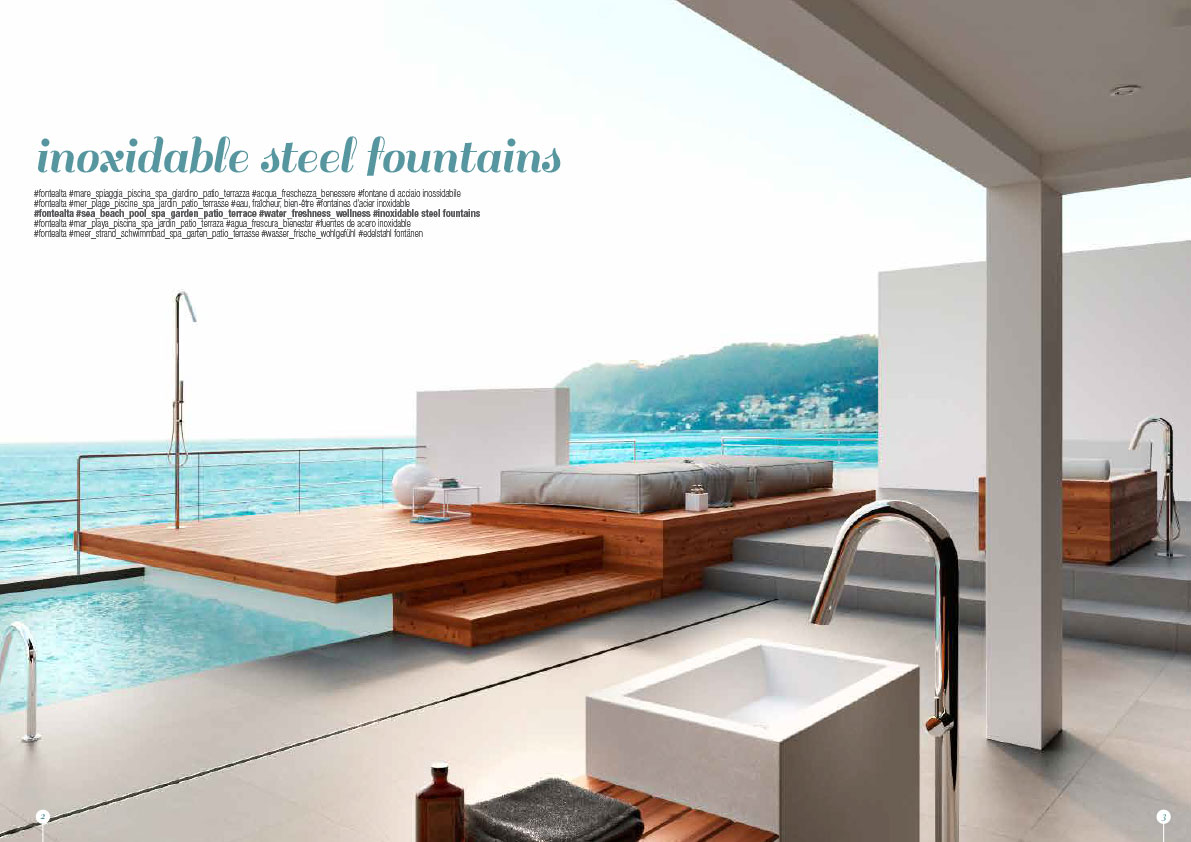 Fontealta Shower & Faucets - Catalog